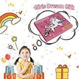 Qaxlry Unicorn-Kids-Stationary Set,50 in 1 Letter