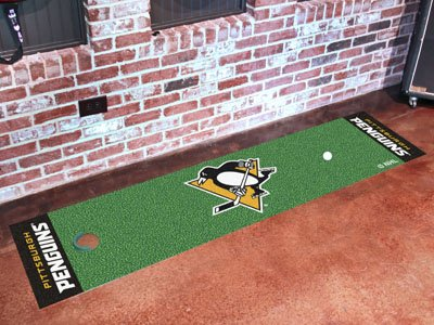 Pittsburgh Penguins Putting Green Runner 18