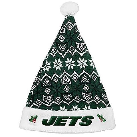 New York Jets 2015 Knit Santa Hat - Santa Nfl New York Jets
