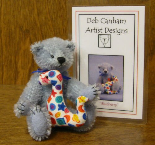 Deb Canham Artist Designs, BLUEBERRY, Limited Edition from New Friends Collection