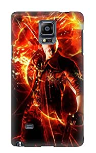 Exultantor Anti-scratch And Shatterproof Dmc 4 Dante Phone Case For Galaxy Note 4/ High Quality Tpu Case