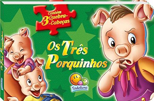 Os Três Porquinhos - Coleção Contos Clássicos em Quebra-Cabeças
