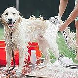 KLLEYNA Sink Faucet Rinser Hose Sprayer Washing Pet Hair in the Sink & Bathtub Powerful Shower Head