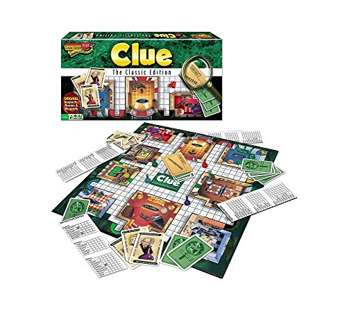 Winning Moves Clue Classic Edition Mystery Board Game