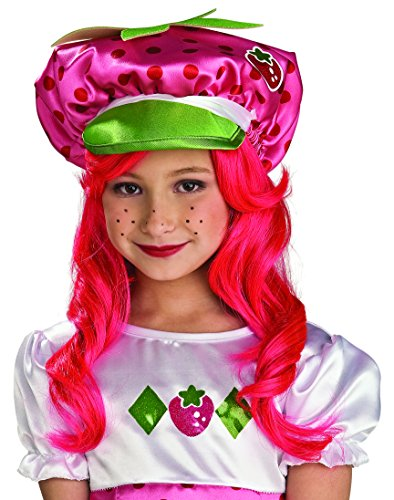 Strawberry Shortcake Halloween Costume (Rubie's Costume Child's Strawberry Shortcake Costume Hat)