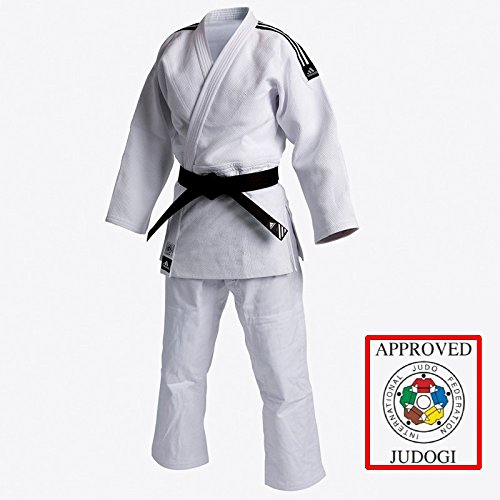 JUDOGI ADIDAS IJF Champion II Slimfit pre-Shrunk Best European judogi