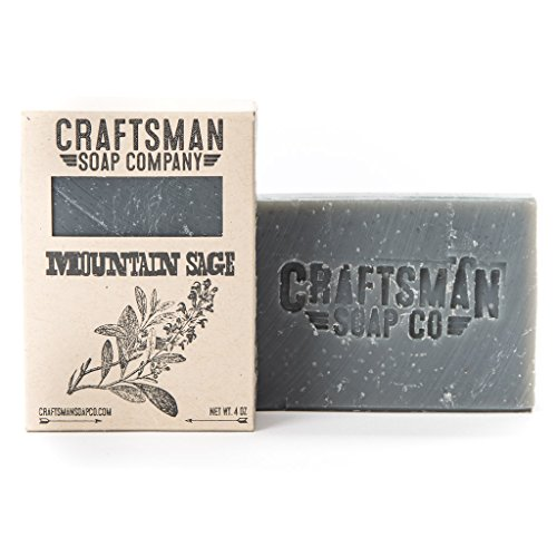 Mountain Sage Bar Soap by Craftsman Soap Company - Handmade in California