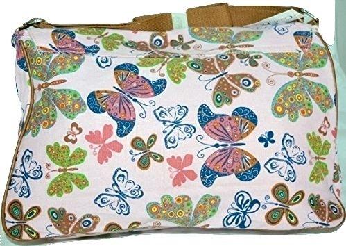 Papillons La sacoche sacoche La Rose Rose La Papillons Papillons Rose sacoche qOFRRU
