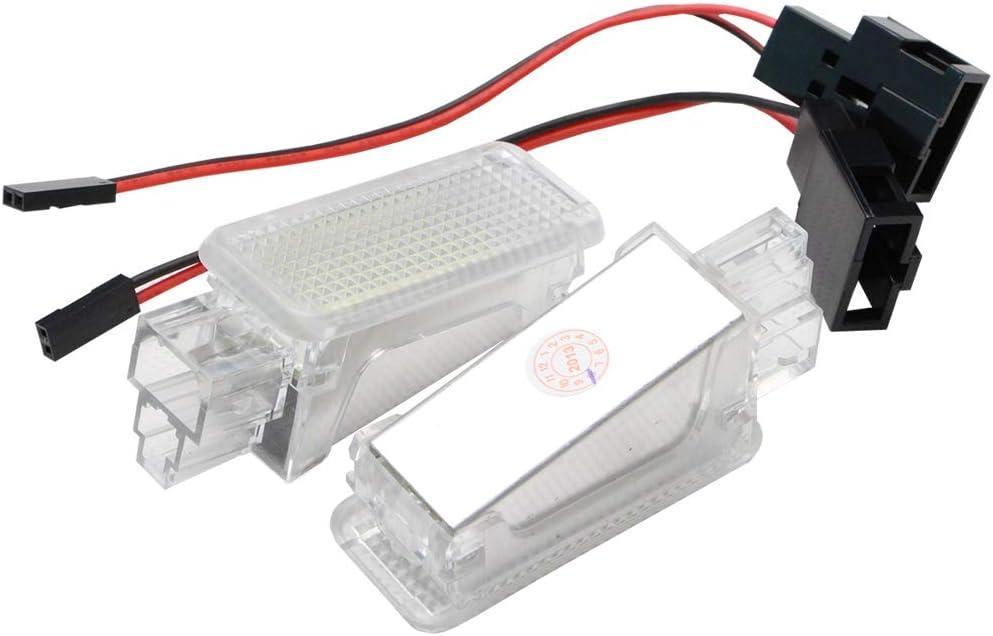 NSLUMO Led Kennzeichenleuchte 18 SMD LED Kofferraum-Gl/ühlampensatz