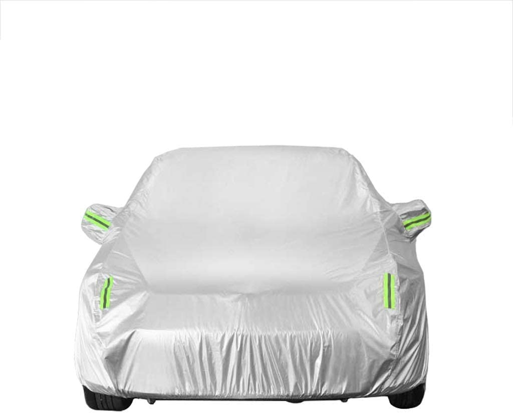 L/&WB Compatible con Aislamiento A Prueba De Polvo UV-Tiempo Cubierta del Coche Completo Transpirable Prueba De Desgarros Jeep Wrangler 2-Puerta De Coche Cubierta del Coche Protector Solar Plano