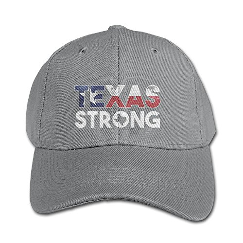 Plain Hurricane - I Love Houston Hurricane Texas Strong Unisex Cotton Snapback Baseball Plain Cap Cool Adjustable Hat For Kids Youth Children Gift