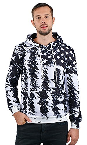 Leapparel Men/Women 3D Printed Hoodies Pullover Funny Graphic Sweater Sweatshirts Fleece Hoody