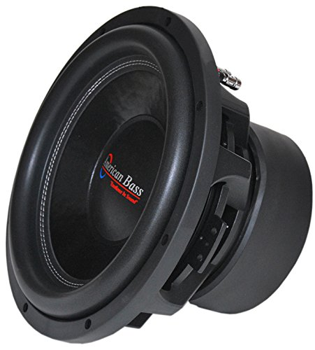 American Bass Xfl1244 12 2000w Car Audio Subwoofer Sub 2000 Watt