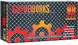 Ammex ILHD49100 GloveWorks Heavy Duty Powder Free Gloves - XX-Large - Box of 100 Gloves