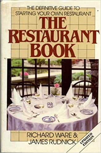 The Restaurant Book The Definitive Guide To Starting Your