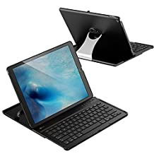 """JETech 2015- Bluetooth Keyboard Case for Apple iPad Pro 12.9"""" (2015 Model ONLY), 360 Degree Rotation, Multi-Angel Stand"""
