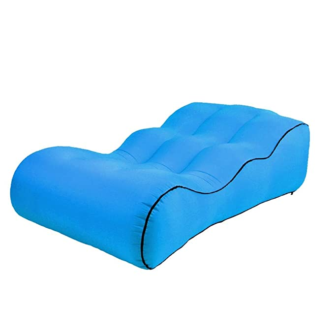 LRSFC Solid Color Outdoor Sofa Plegable Portable Inflable ...
