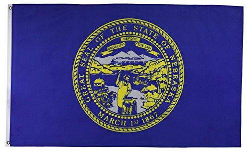 Shop72 US State Flags - Nebraska Flag - 3x5' - Polyester