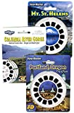 Mt. St. Helens - Columbia River - Portland - Triple Vintage ViewMaster Set - 9 Reels