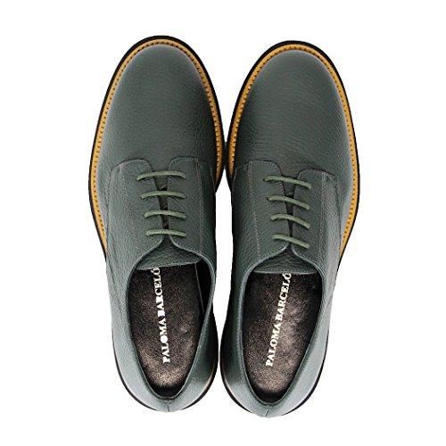 Chaussures Vert Paloma Barcelo Kentucky Lacets À xvYZTq5w