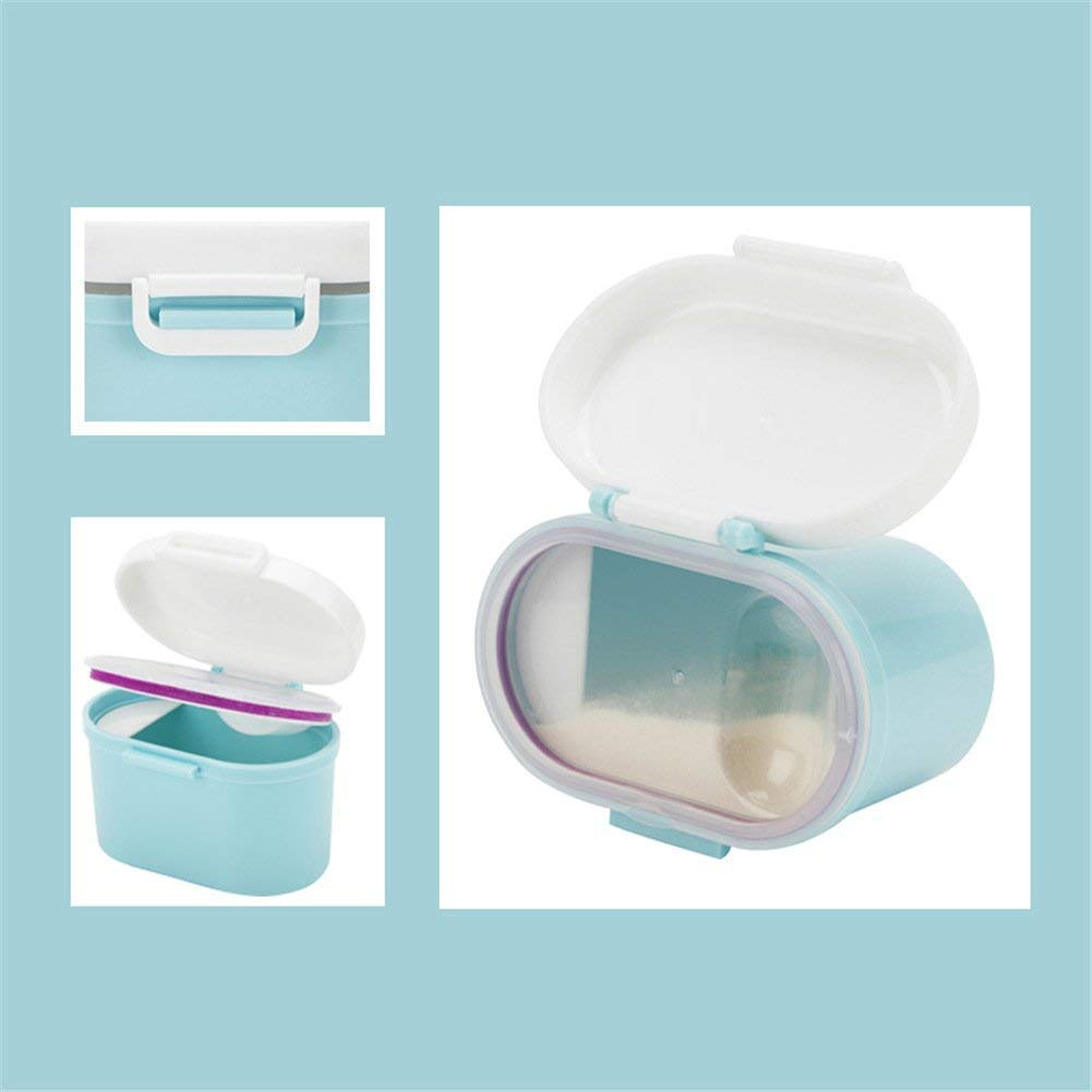 BPA Free Airtight Milk Powder Pot Box BANGBANG Portable Formula Powder Dispenser with Leveller