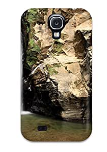 ZippyDoritEduard Case Cover For Galaxy S4 - Retailer Packaging Waterfall Earth Nature Waterfall Protective Case