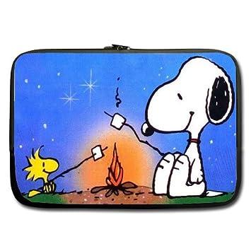 Snoopy barbacoa Cute dibujos animados personalizados funda ordenador funda blanda para MacBook Pro 15 pulgadas (