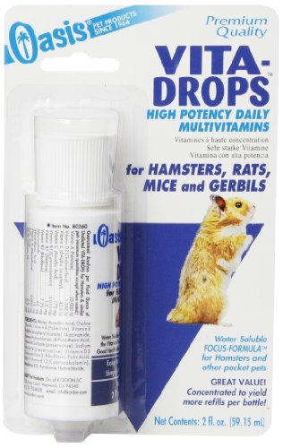 Kordon OASIS #80260 Vita Drops for Hamsters, 2-Ounce