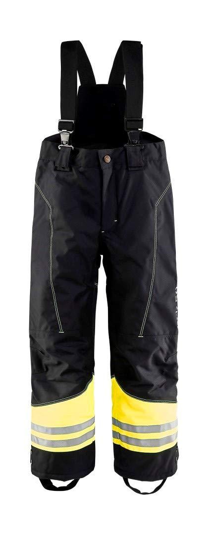 Blaklader Workwear Children Winter Trouser Black/Yellow C152 (C152 UK) by Blaklader