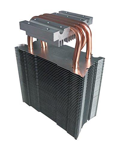 MARSWALLED Copper Tube Radiator Aluminum Sheet Heat Sink for 100W COB LED or Computer CPU Graphics Card Heat Dissipation