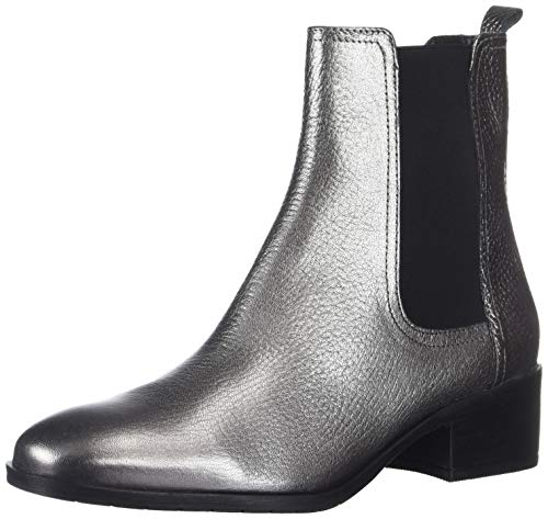 Kenneth Cole New York Women's Salt Chelsea Boot Ankle, Pewter, 8 Medium US