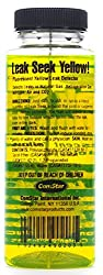 ComStar 90-203 Leak Seek Gas Leak Detector, 8 oz. Bottle, Fluorescent Yellow