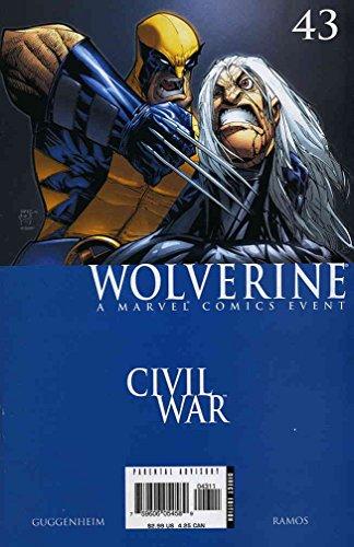 Wolverine (Vol. 3) #43 FN ; Marvel comic book