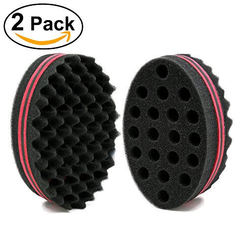 NIRVANA-Big-Holes-Barber-Hair-Brush-Sponge-Dreads-Locking-Twist-Afro-Curl-Coil-Wave-Hair-Care-Tool-2-Pcs