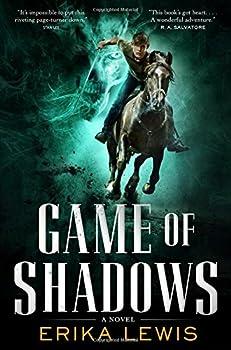 Game of Shadows by Erika Lewis YA fantasy book reviews
