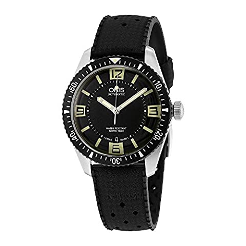 Oris Divers Heritage Sixty-Five Automatic Mens Watch 733-7707-4064RS (Watch Automatic Oris)