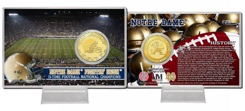 Highland Mint Irish UNOD13BBCCK University of Notre of Highland Dame 11-Time National Champions Bronze Coin Card NCAA Notre Dame Fighting Irish B00FADH1CM, めだま家:54dc63c9 --- harrow-unison.org.uk