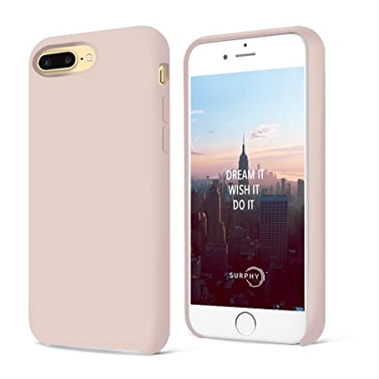 custodia silicone iphone 7 rosa