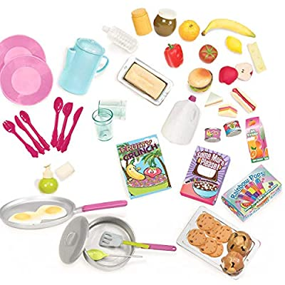 Our Generation RV Camper Food Accessory Set: Toys & Games