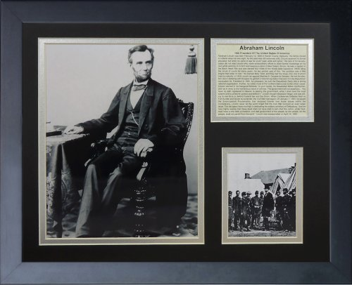"Legends Never Die""Abraham Lincoln"" Framed Photo Collage, for sale  Delivered anywhere in Canada"
