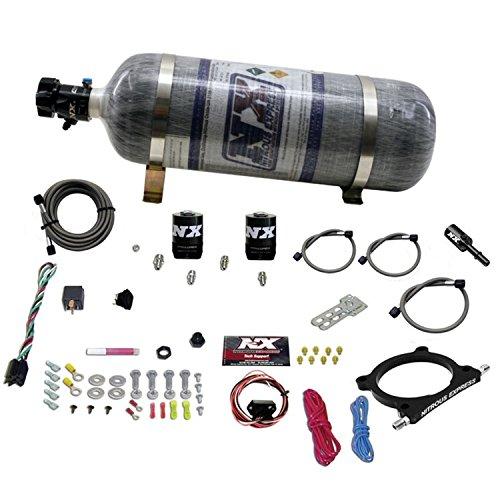 (Nitrous Express 20951-12 5.0L Plate Nitrous System w/10 lb. Composite Bottle/Brackets Ford 50-250HP 5.0L Plate Nitrous System)