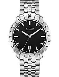 Bulova Unisex Accutron II - 96B207 Stainless Steel Watch (Silver)