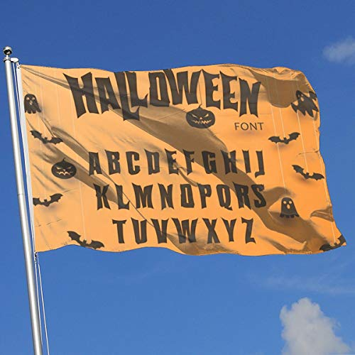 Creepy Halloween Font - MJHYH Halloween Font Original Typeface Scary
