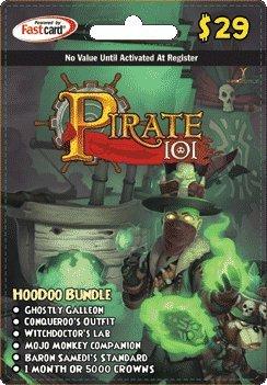Pirate 101 Hoodoo Bundle Prepaid Game Card