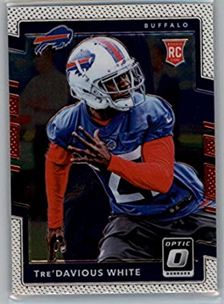 Verzamelkaarten: sport Amerikaans voetbal 2017 Donruss Optic Red and Yellow #102 Rookies Tre'Davious White Buffalo Bills