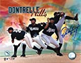 Signed Dontrelle Willis Photo - 2003 ROY 8x10 - Autographed MLB Photos
