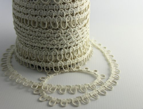 Nakpunar Ivory Elastic Button Loops