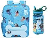 Puppy Dog Pals 12'' Backpack + Matching Water Bottle with Built-In Straw