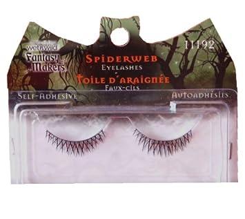 Amazon Com Spider Web Eyelashes Fake Eyelashes And Adhesives Beauty