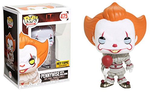 Funko Pop  It Pennywise With Balloon  Limited Edition Exclusive  Concierge Collectors Bundle Vinyl Figure